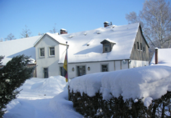 Ferienappartements im Winter